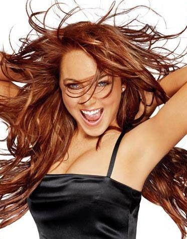 Lindsay Lohan...